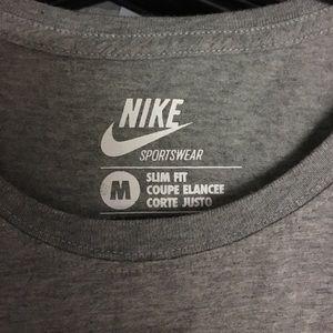 Nike Tops - 3 Grey Nike Cotton Running Tees Bundle